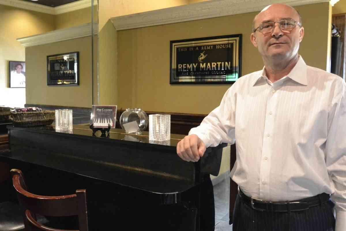 Bruno, owner of Bruno's Ristorante - Irving, TX
