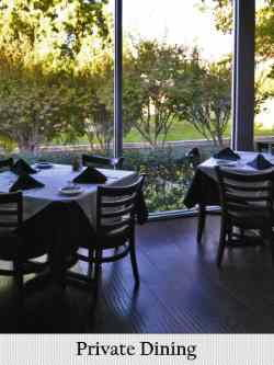 private dining rooms available at bruno's ristorante in irving, tx