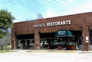 Bruno's Ristaurante storefront - Irving, TX