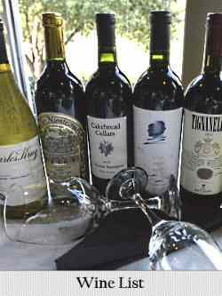 choice wines on the list at bruno's in irving, tx